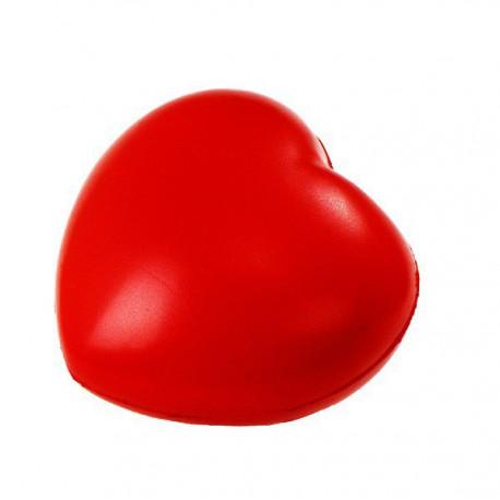 Antystresowe Heartie, czerwony - druga jakość