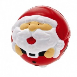 Antystres Mikołaj, czerwony/biały