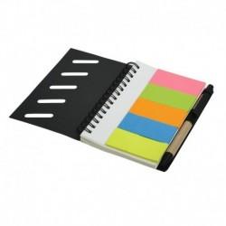 Notes 87x137/70k gładki z długopisem Fraga, czarny