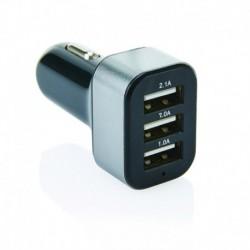 Potrójna ładowarka samochodowa USB 3.1A