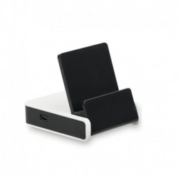 Hub USB 2.0, stojak na telefon