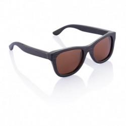 Bambusowe okulary przeciwsłoneczne