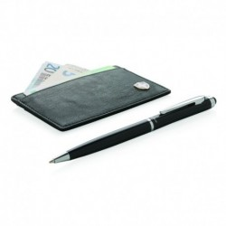 Etui na karty i długopis, ochrona przed RFID