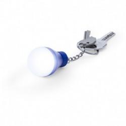Brelok do kluczy żarówka, lampka 1 LED
