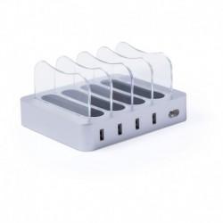 Ładowarka do telefonu z 4 gniazdami USB 6.8A